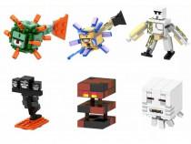 Set 6 Minifigurine tip Lego Minecraft cu Big Magma Cube