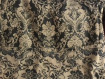 Set 2 draperii black-out 140x240cmx2,culoare bej-maro