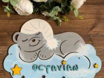 Decoratiune camera, nume bebe, Ursuletul somnoros