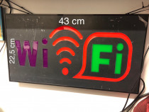 Panou tip banner WIFI