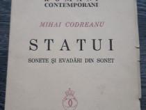 Carte veche mihai codreanu statui 1939