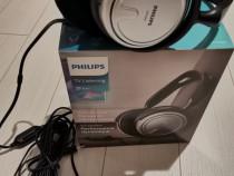 Casti philips shp2500/10 cu fir on-ear