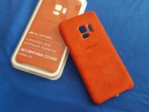 Husa Samsung Galaxy S9 Alcantara Originala,Noua Sigilata
