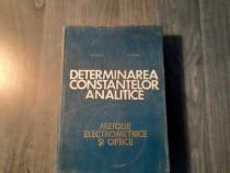 Determinarea constantelor analitice metode optice C. Luca