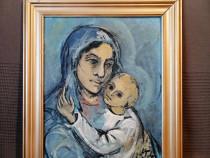 Tablou ulei pictat de Maria Otetelesanu (1993)