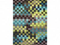 Covor Modern & Geometric Pixel, Acril, Multicolor, 120x180