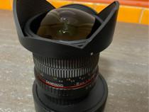 Obiectiv Samyang 8mm CS II f./3.5 montura Canon
