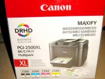 B616-Canon Maxify-Set 4 Cartuse JapanMultipack PGI-2500...