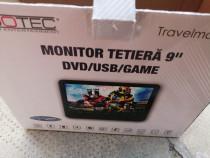 Monitor tetiera Auto Edotec Travelmate 9+, Telecomanda, NOU