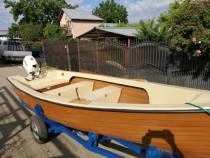 Barca golf 480 cu motor suzuki 20 cp