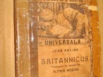 1885-J.Racine Britannicus. Drama in 4 acte editie mica.