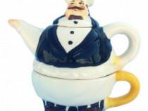Set Din Ceramica Format Din Cana De Ceai 650D