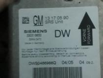 Ecu airbag opel vectra c signum gm13170590