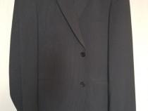 Costum MARIOS, gri, marime 50, 80% lana 20% poliester