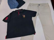 Set POLO Ralph Lauren Chino pantaloni și tricou, XXL + bonus