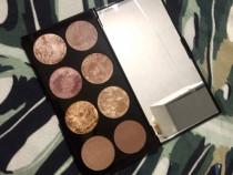 Paleta Bronzer Blush Iluminator Makeup Revolution