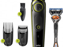 Aparat de tuns barba BRAUN BT3241 - NOU