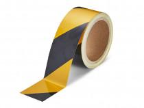 Banda delimitare reflectorizanta negru&galben GT-10