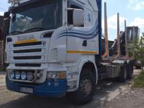 Scania pentru transport busteni