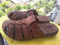 Papuci,piele Gallus mar 42 (26.5 cm)