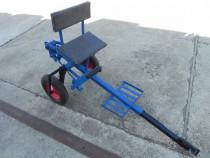 Scaun cu roti pentru motocultor adaptor