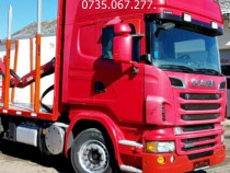 Camion transport lemn macara Penz Z+leasing de la 10%