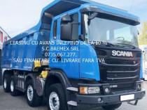 Autobasculanta 8x4 Scania G-480 an 2014+leasing de la 10%