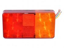 Lampa spate camion 12V cu LED Dimensiune: 15 x 8 x 2.6 cm.