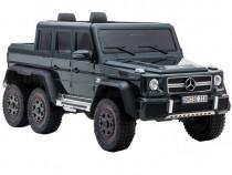Masina electrica Mercedes G63 6x6 Premium cu 4 motoare Black