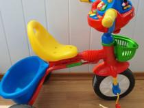 Tricicleta Mickey Mouse cu lumini, muzica si sunete