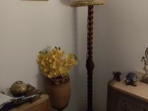 Lampadar lemn masiv