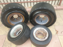 Roti stivuitor Solideal 23 x 9-10/ 18X7-8 4.33 complete