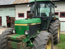 Tractor john deere 2850 cu tot cu utilaje