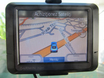 GPS Garmin Nuvi 255 , display 8,9 cm + suport + cablu origin