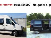 Transport persoane Italia - Romania tur/retur