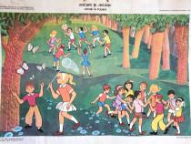 Afis / poster perioada comunista - Jocuri in Poenita