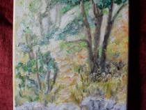 In padure 4-pictura ulei pe panza