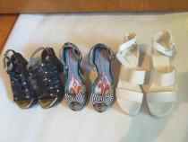 3 perechi de sandale/pantofi nr.36