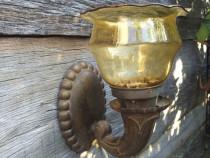 Lampa aplica de perete cu abajur
