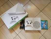 Consola Xbox One S 4K full box, impecabila, peste 250 jocuri