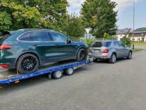 Tractari, transport auto defecte/accidentate NON STOP