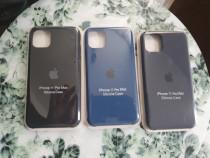 Husa apple 11 pro max din silicon noua