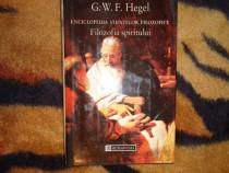 Hegel - Filozofia spiritului