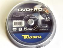 DVD+R Disc Double Layer Blank Traxdata 8x 8.5 GB