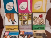 Georges Simenon carti politiste (9 vol)
