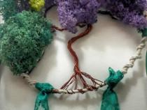 Dream catcher copacul vietii, cu licheni stabilizati