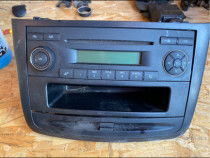 Radio cd player mercedes w639 complet cu rama