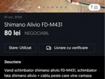 Schimbator Shimano Alivio FD-M431