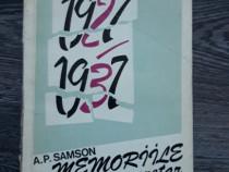 A p samson memorii 1927 1937
