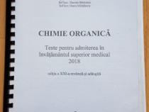 Teste chimie organica admitere medicina Bucuresti 2018